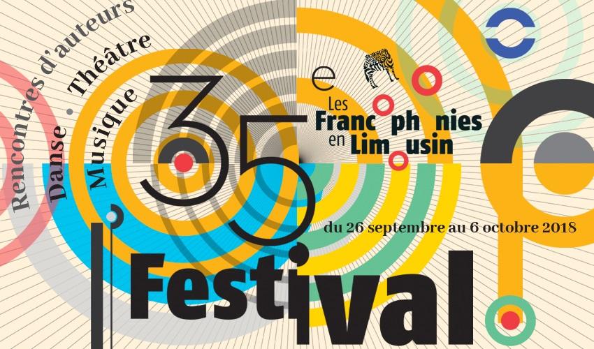affiche des Francophonies