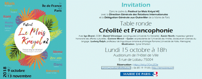 Créolité et Francophonie