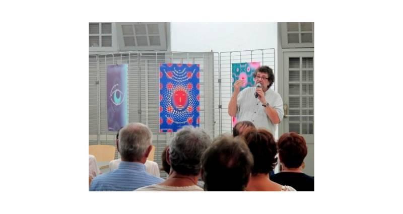 Roland Gauvin à la soirée Francophonie © Daniel Miroux