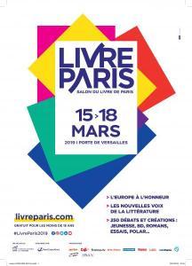 Affiche salon Livre Paris 2019