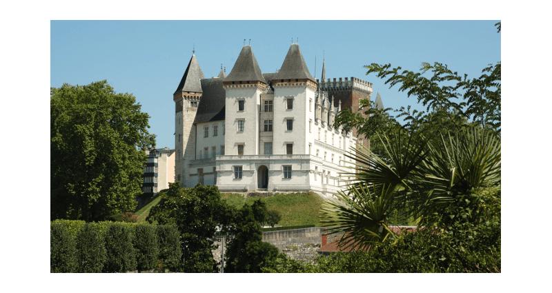 Château de Pau, vue ouest