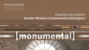 Extrait de la couverture du Monumental du 2e semestre 2017 / Musées et monuments historiques
