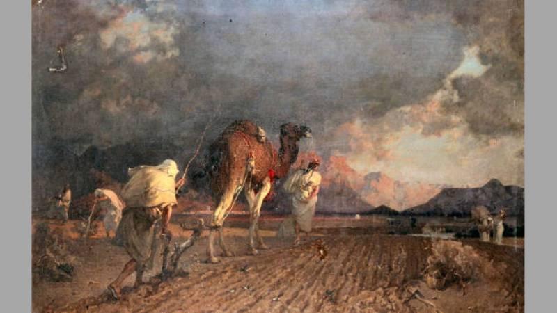 Gustave Guillaumet, Labour en Algérie - Musée de Limoges