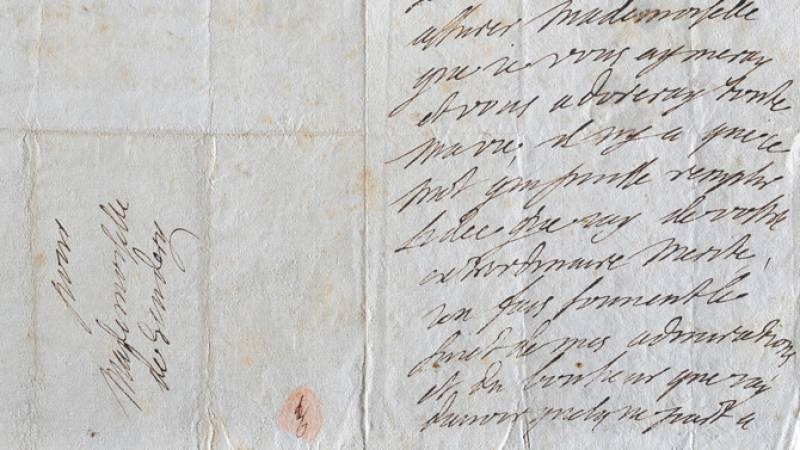 Madame de Sévigné, Lettre à Melle de Scudéry, 11 septembre 1684, Coll. Départementale du Château de Grignan
