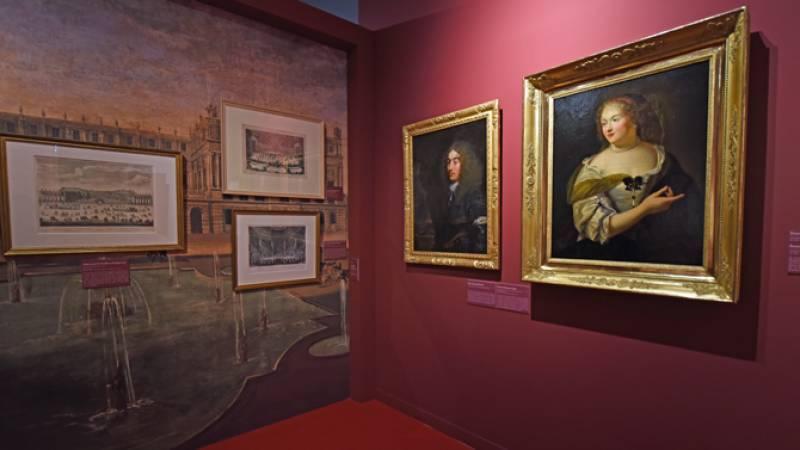 Tableaux et gravures de l'exposition