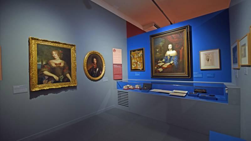 Vue d'une salle de l'exposition