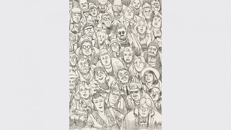 City People Notebook - détail - 1989