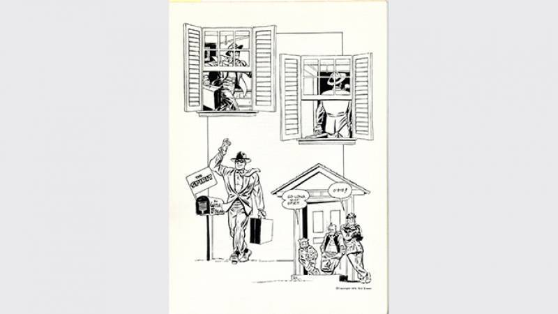 Will Eisner - The Spirit - Vacation - planche 1