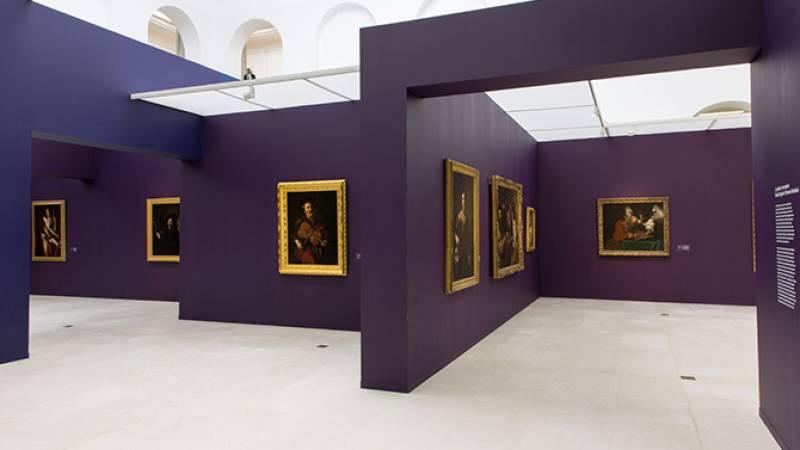 Vue de l'exposition - Salle consacrée à Rome
