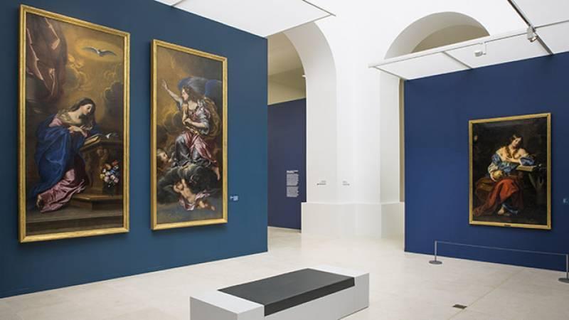 Vue de l'exposition - Salle consacrée à Venise