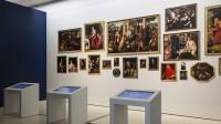 Vue de l'exposition - Salle numérique
