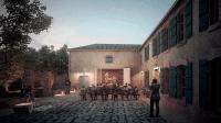 Maison natale Clemenceau - Perspective du musée au soir