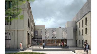 Projet de façade extension. © Cpa, 2017